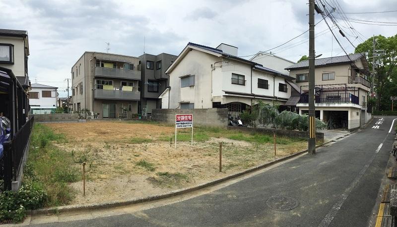 茨木市上中条2丁目分譲地 2号地(建築条件付売土地)