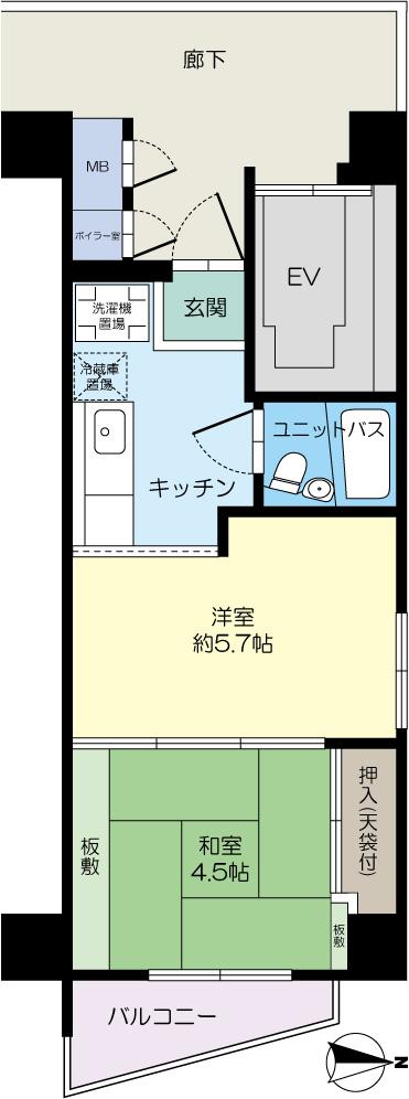 堀江ハイツ(中古マンション)